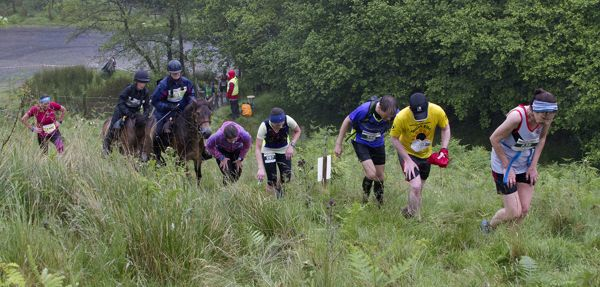Runners and riders struggling